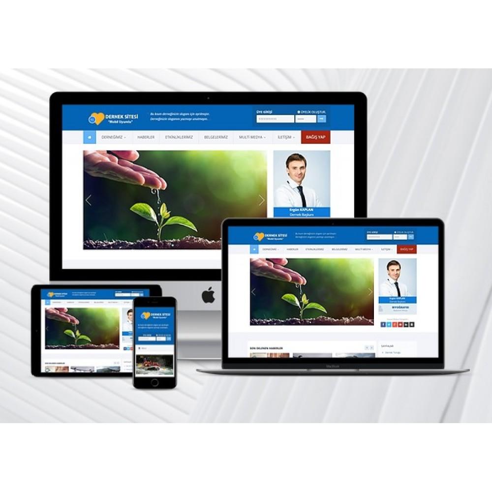 Dernek Web Sitesi Adm V2