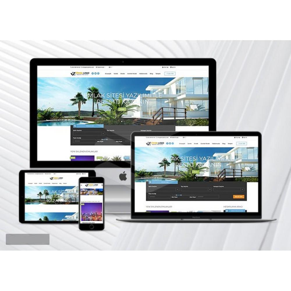 Profesyonel Emlak Sitesi VanWeb V4