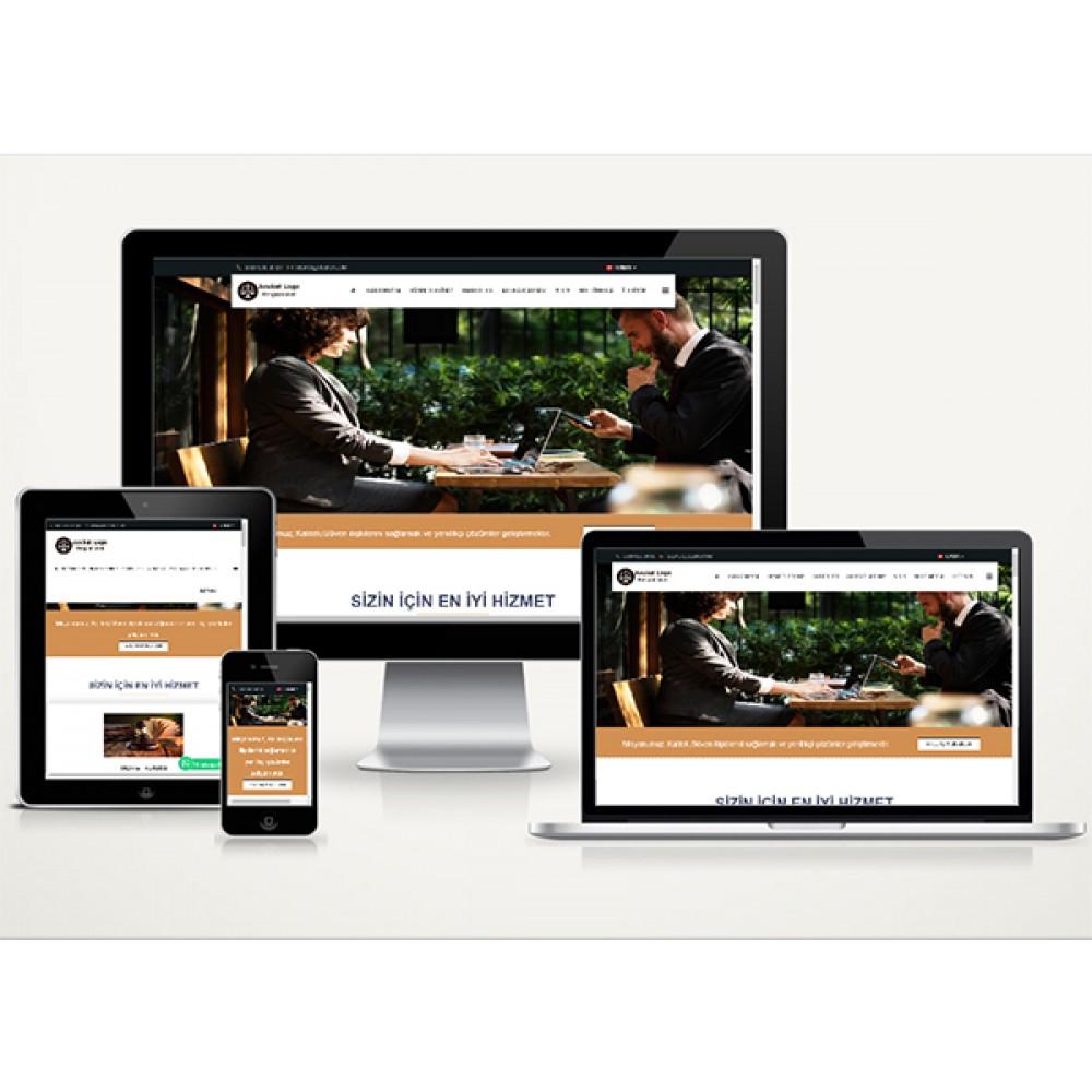Avukat Web Sitesi Van Web V1