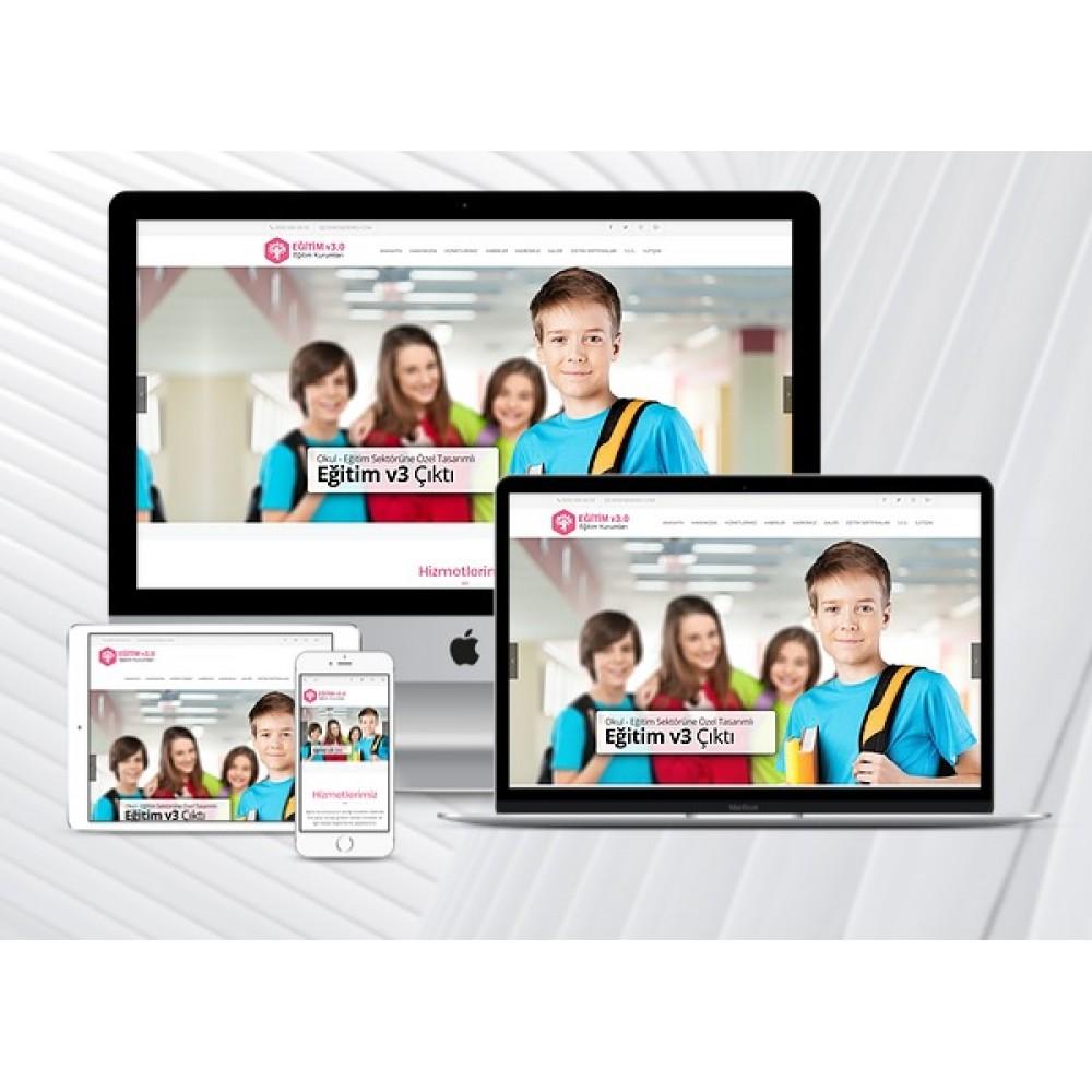 Eğitim Kurumları Sitesi V2