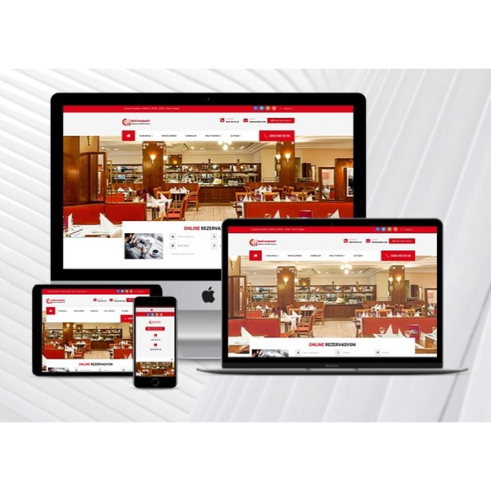 Restaurant Web Sitesi Eymen V2