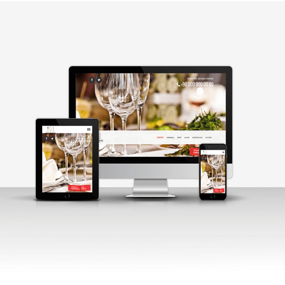 Cafe ve Restaurant Sitesi v3