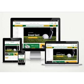 E-Ticaret Spor Salonu Web Sitesi ArEy V4