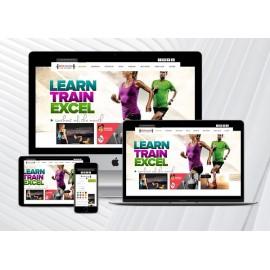Spor Salonu / Fitness Web Sitesi ArEy V1